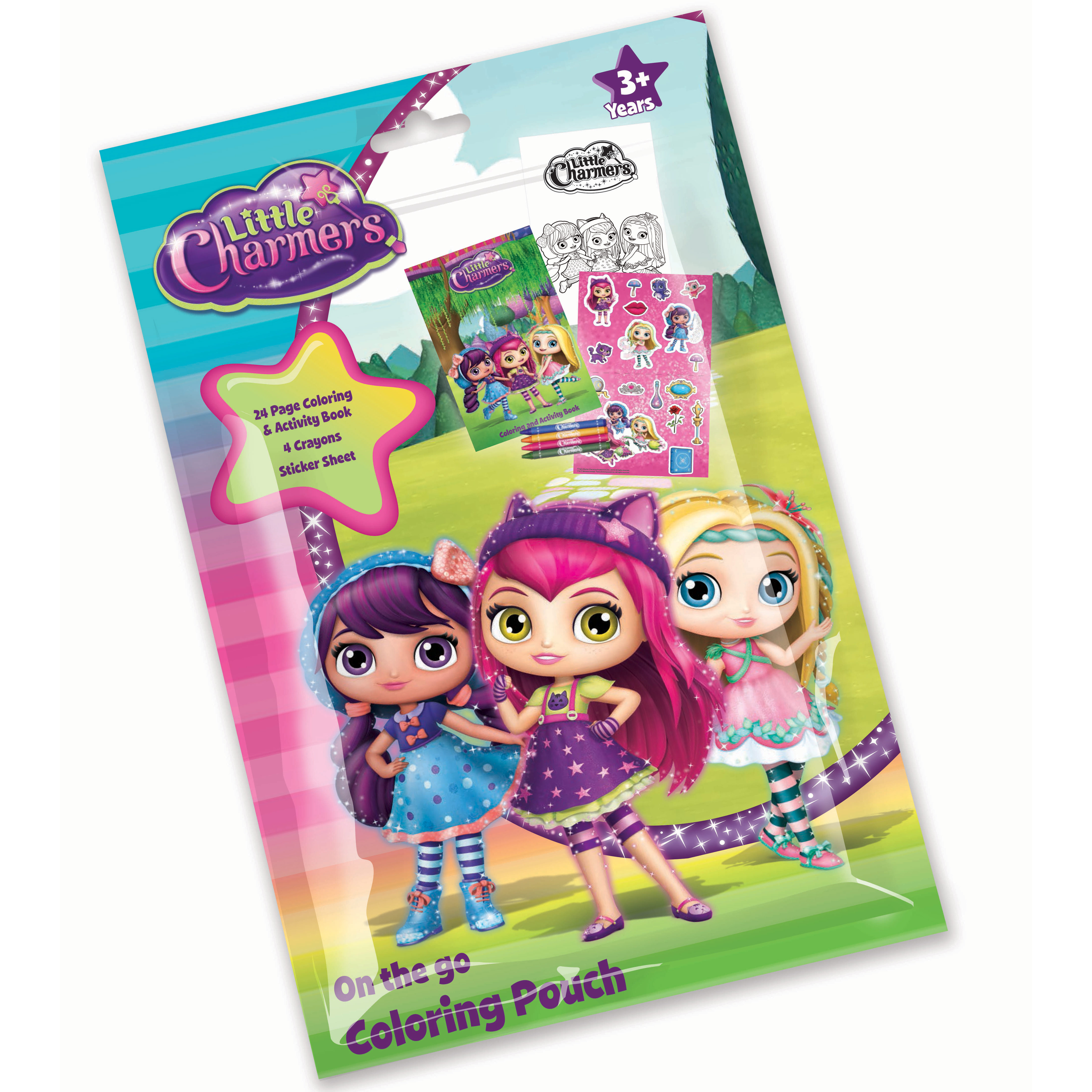 Little Charmers Coloring Pouch Favor (Each) - Party Supplies