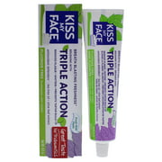 Triple Action Fluoride-Free Toothpaste - Fresh Mint by Kiss My Face for Unisex - 4.1 oz Toothpaste