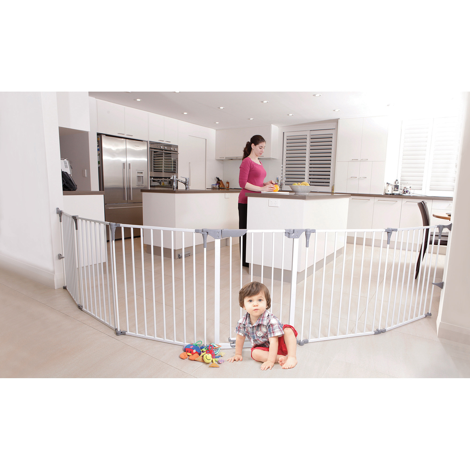 Dreambaby Royale Converta 3-in-1 Playard & Wide Barrier Gate