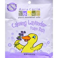 Aura Cacia Calming Foam Bath Lavender Essential Oil - Case of 6 - 2.5 oz