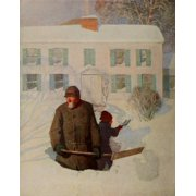 Scribners 54 1913 Christmas morning Poster Print by  Newell C Wyeth