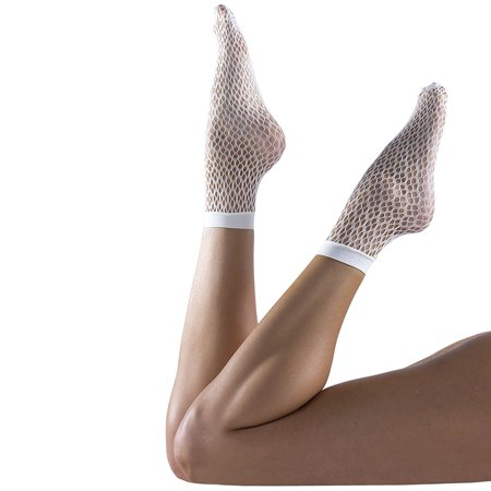 Felicity Sheer Ankle Socks  Fishnet Socks  Sheer Socks  Nylon Socks  Assorted C  4 Pack
