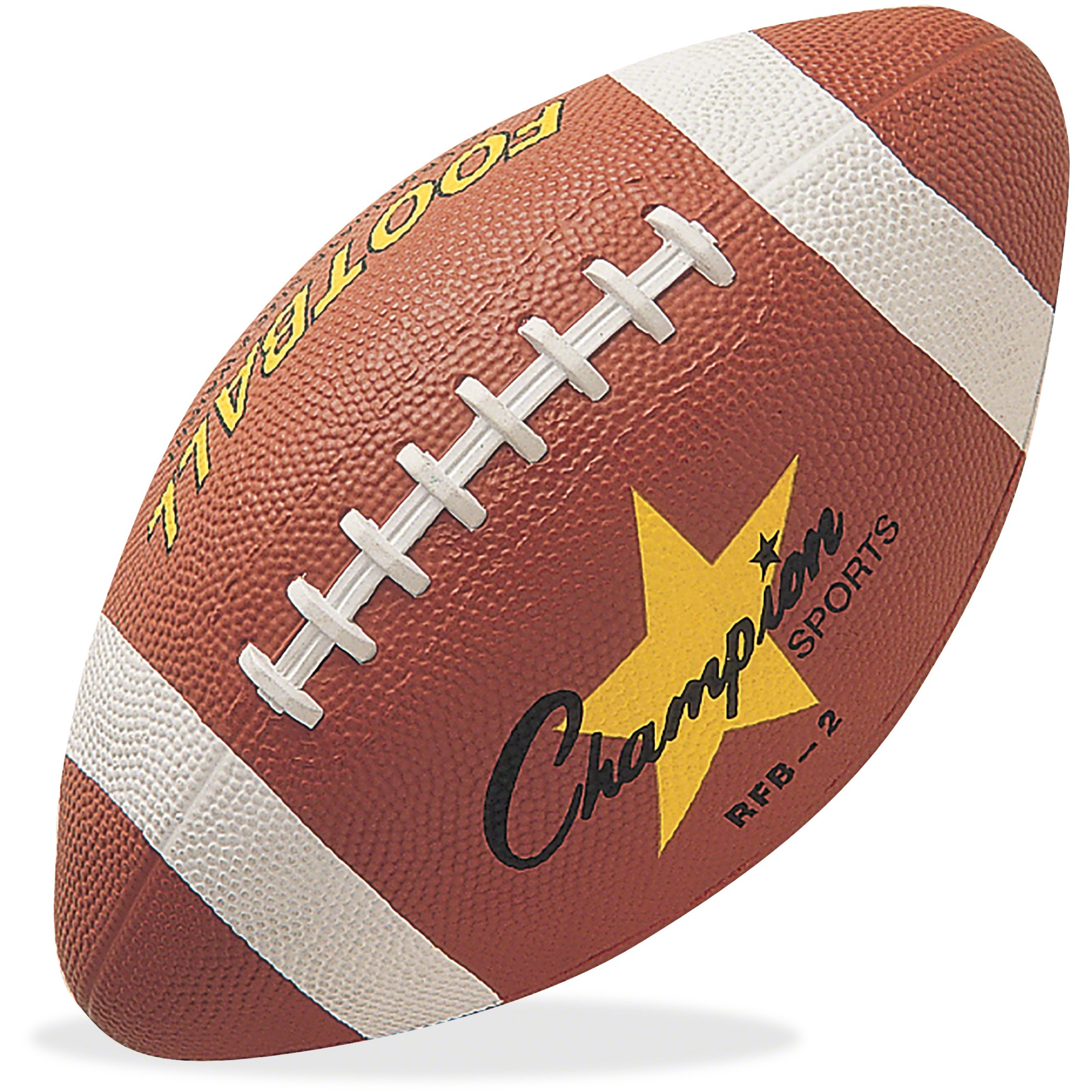 Champion Sport s Intermediate Size Football, Brown, 1 Each (Quantity) by CHAMPION SPORT