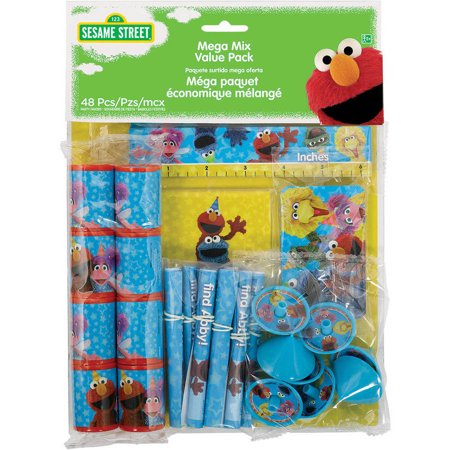 Sesame Street 2 Mega Party Favor Pack for 8