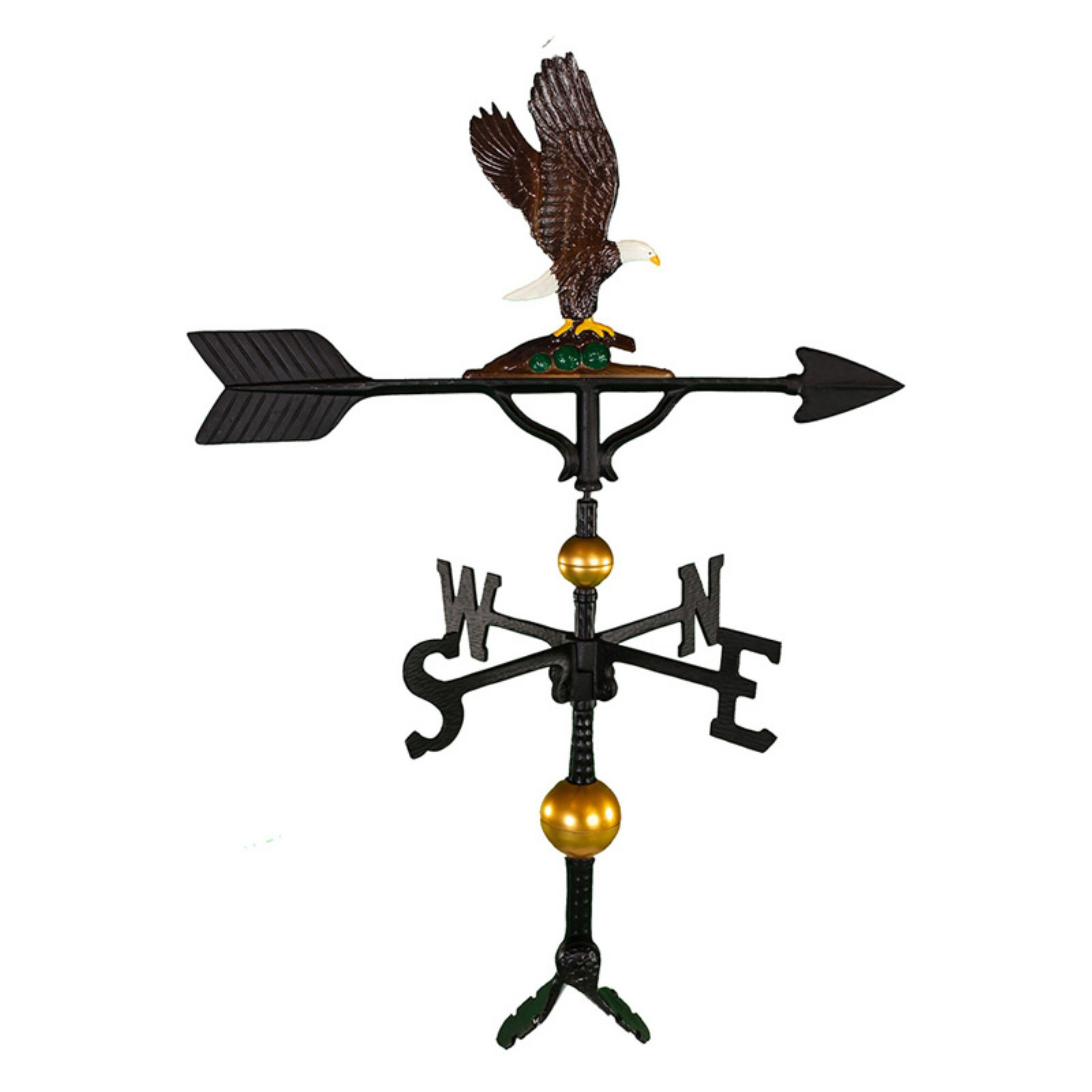 Deluxe Color Eagle Weathervane 32 in. by Montague Metal Products