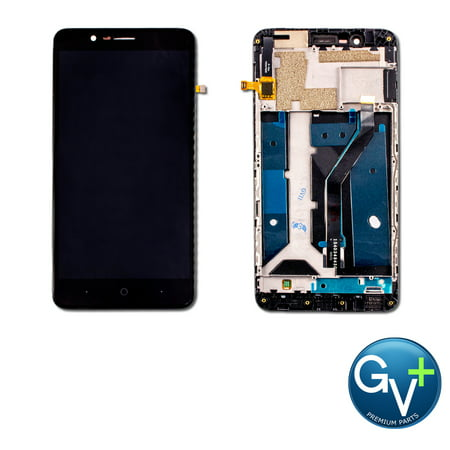 Touch Screen Digitizer and LCD with Frame Display Assembly for ZTE Blade Z Max (Z982) (6.0
