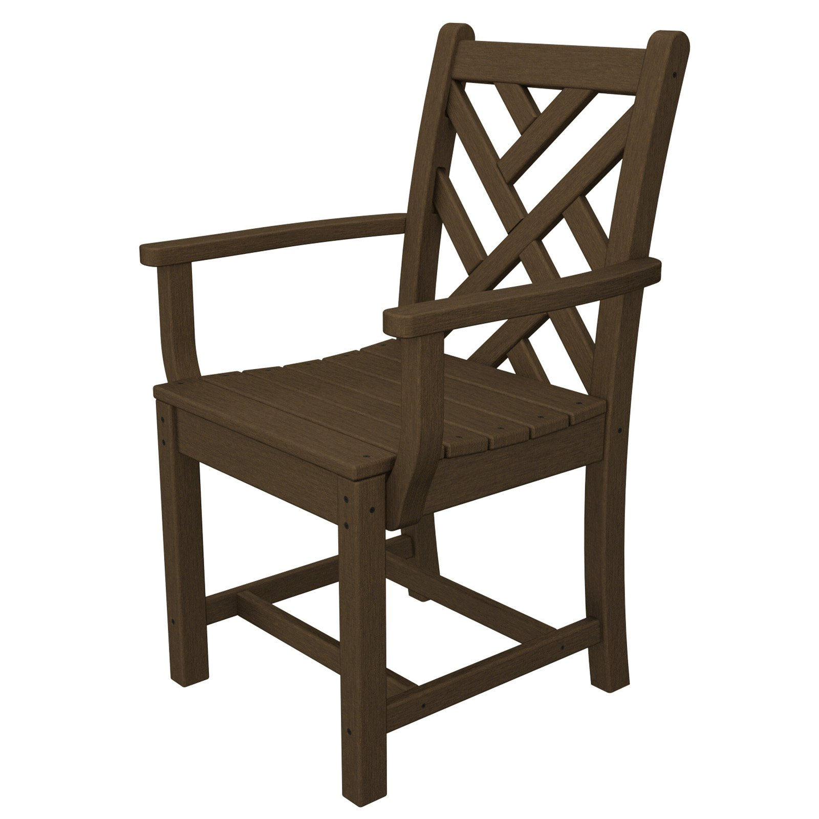 POLYWOOD® Chippendale Recycled Plastic Dining Arm Chair
