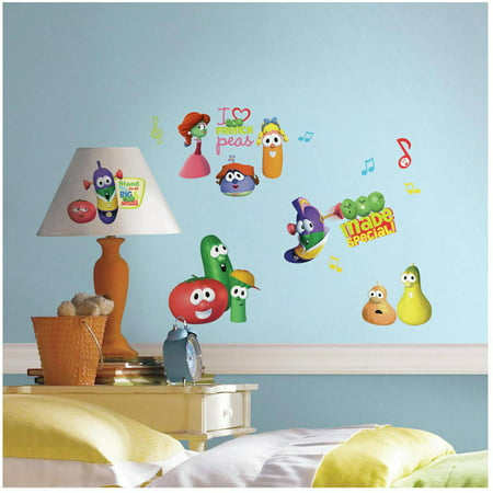 Veggie Tales Peel and Stick Wall Decals