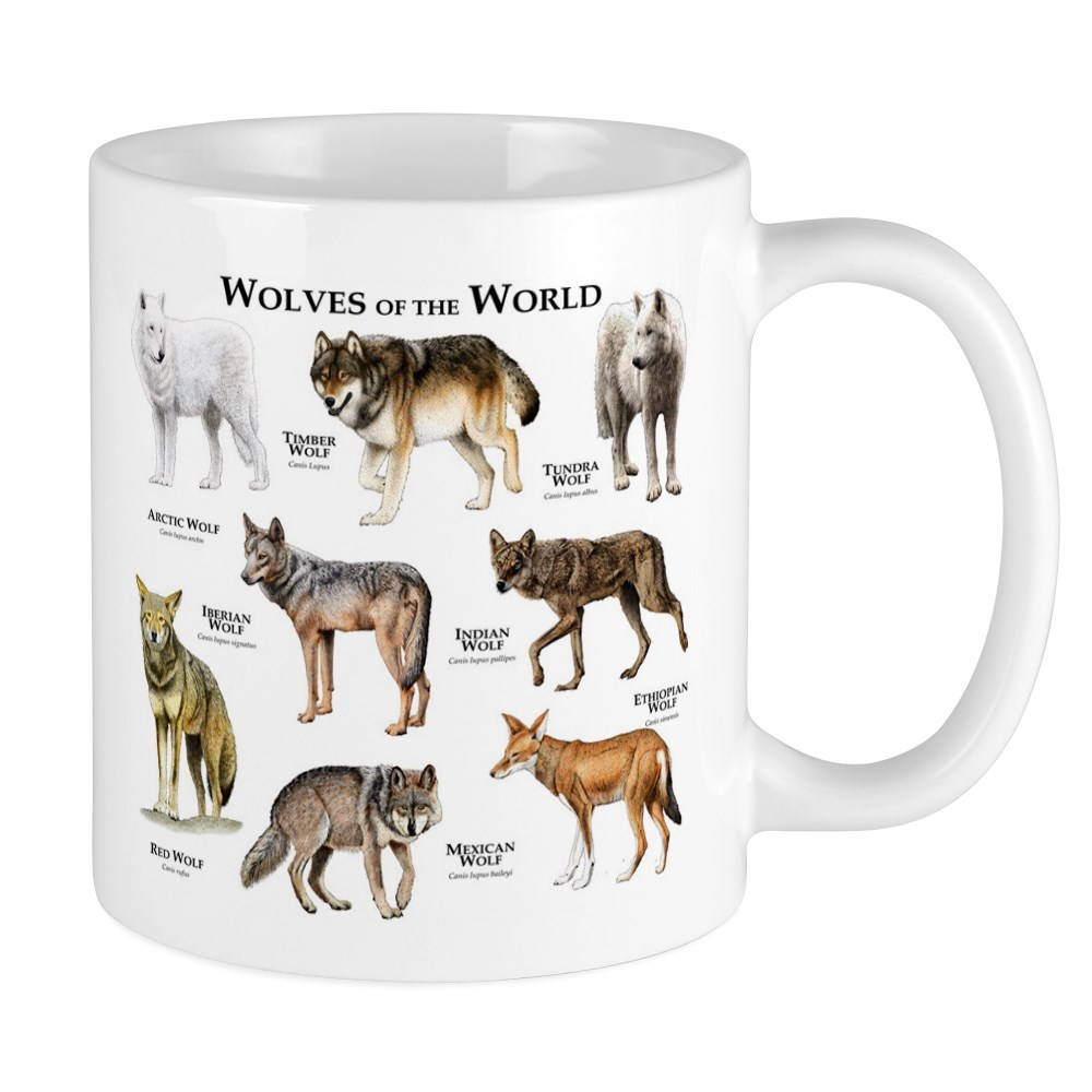 Cafepress Wolves Of The World Mug Unique Coffee Mug Coffee Cup Cafepress Walmart Com Walmart Com