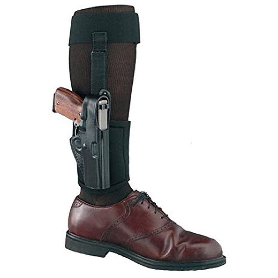 Gould and Goodrich B816-G42 Ankle Holster Plus Garter, Black for Glock 42 by Gould & Goodrich