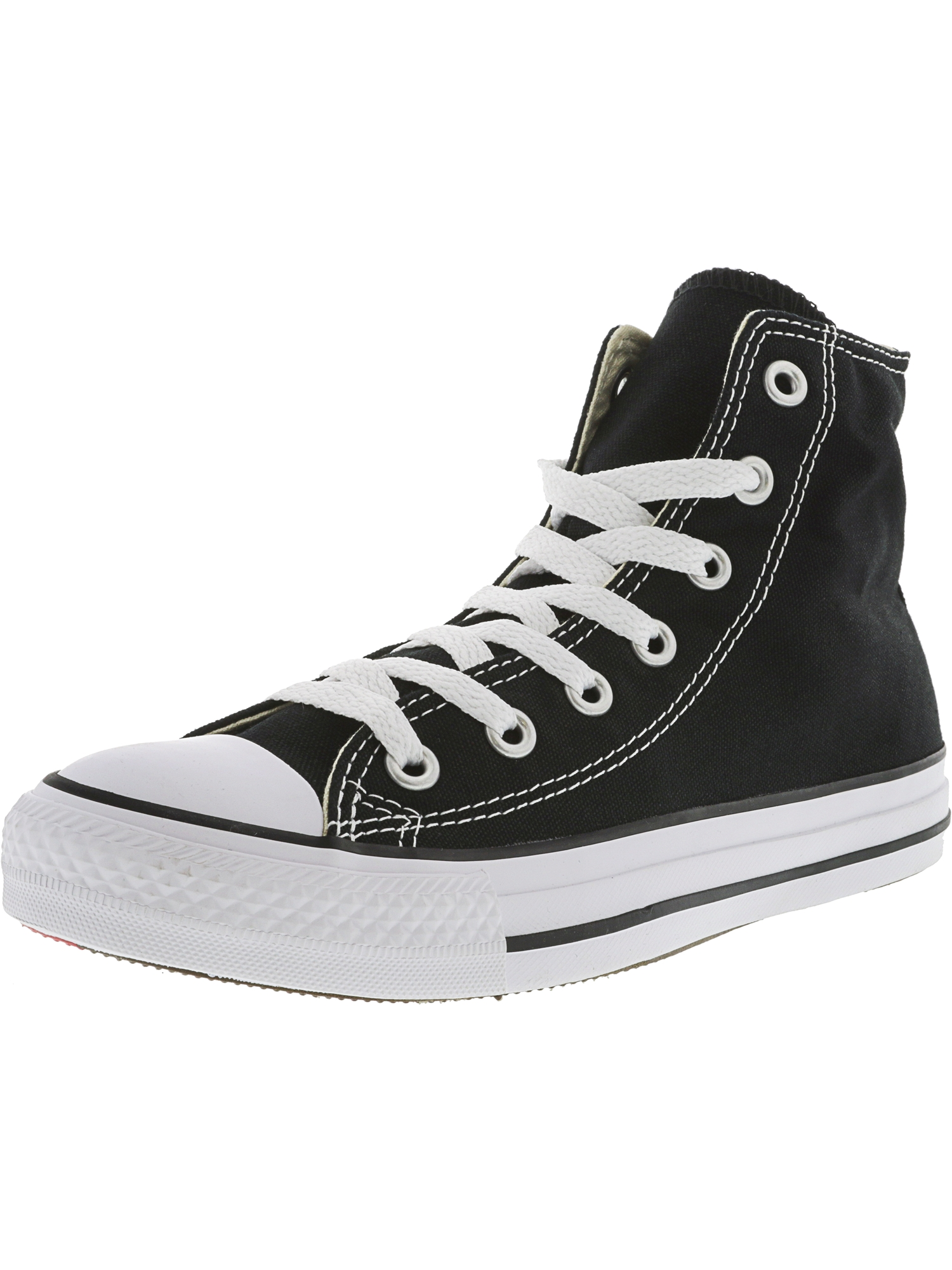 Converse Chuck Taylor All Star High Black Mono High-Top Canvas Fashion Sneaker 6M   4M by Converse