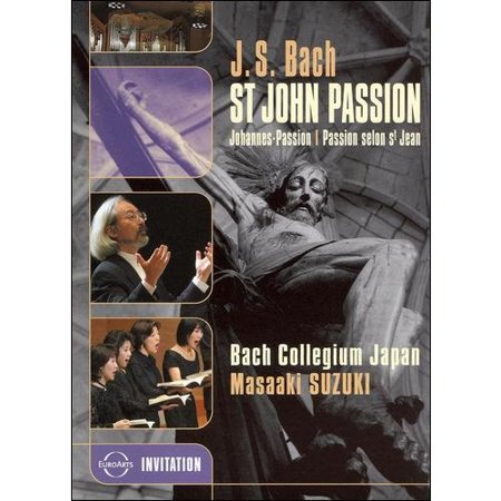 Bach  St  John Passion   Bach Collegium Japan   Masaaki Suzuki  Widescreen