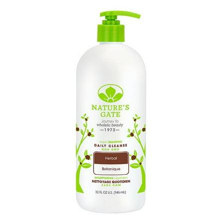 Herbal Cleansing Tonic (Nature's Gate Daily Cleanse Vegan Herbal Shampoo, 32 Fl Oz)