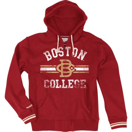 new product bb30f 4f7ed Boston College Eagles Mitchell & Ness 2013 Full Zip Premium ...