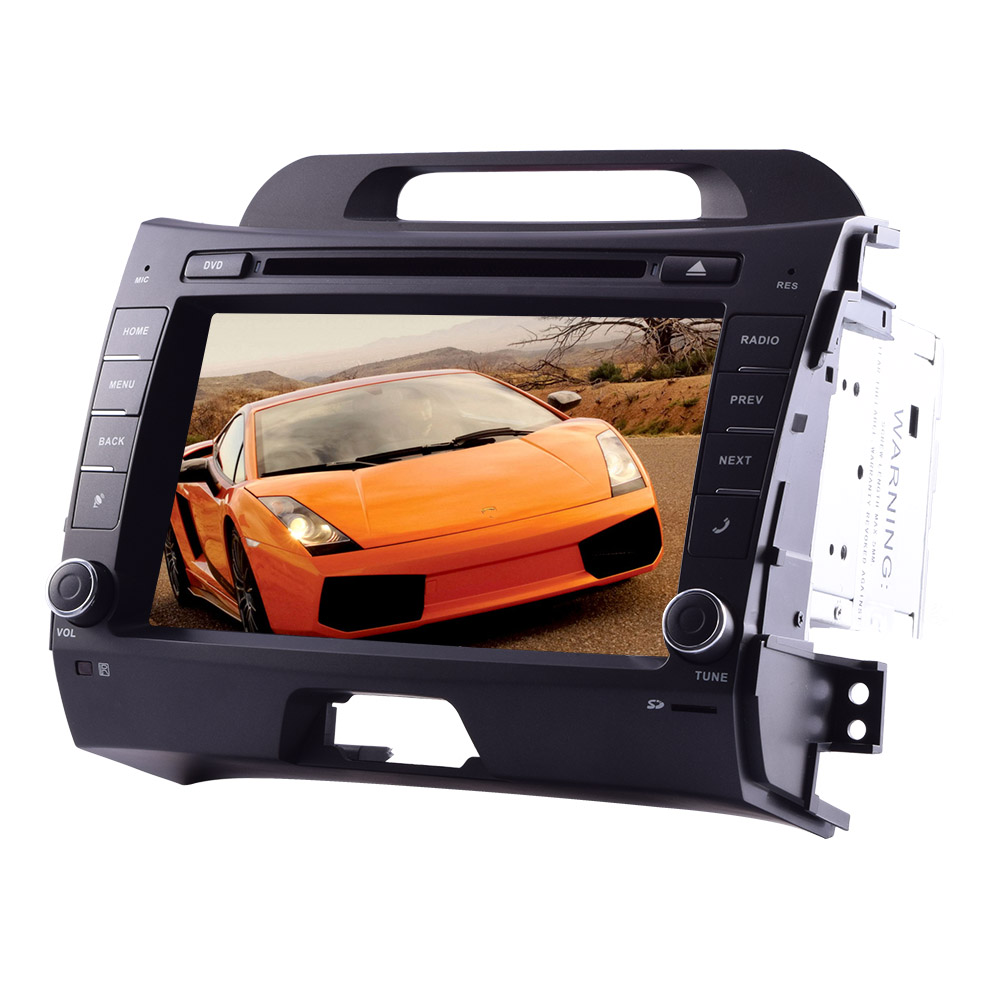 KIA Sportage R(2011-2014)Pure Android 4.4 Car DVD Player in Dash GPS Navigation car Stereo with 8''... by EinCar