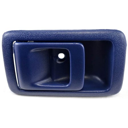 - PT Auto Warehouse TO-2545J-LH - Inner Interior Inside Door Handle, Blue - Driver Side