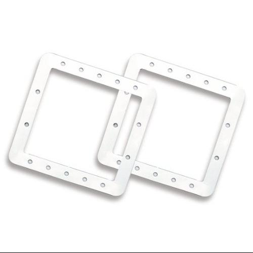 Hydro Tools 8946 Pool Skimmer Front Plate Gasket Set, 2 Piece