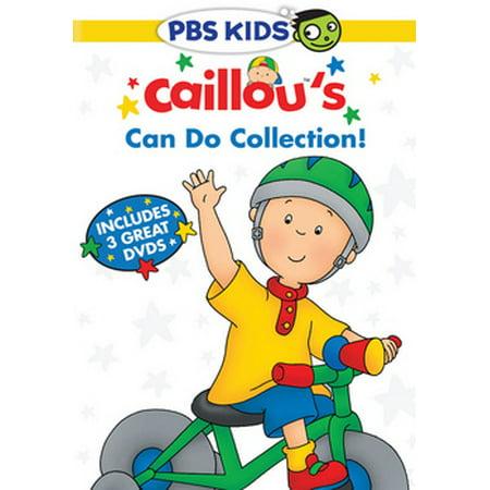 Caillou's Can Do Collection! (DVD)