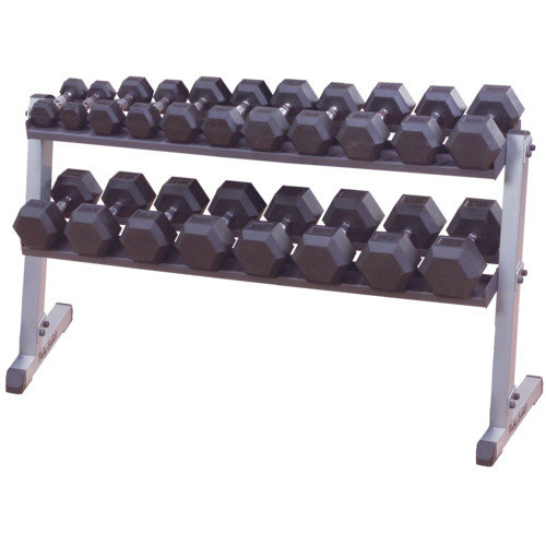 Body Solid Horizontal Dumbbell Rack