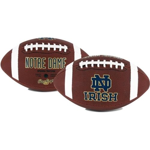 Notre Dame Fighting Irish Official NCAA  Gametime Full Size Football by Rawlings