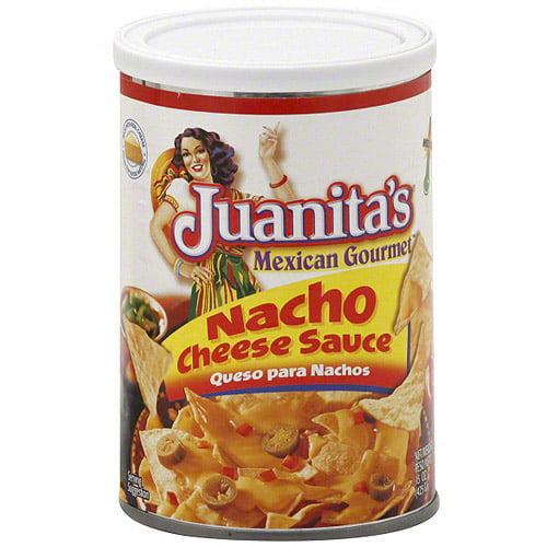 Juanita's Medium Nacho Cheese Sauce, 15 oz (Pack of 12)