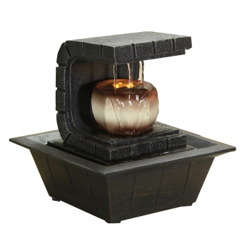 Water Fountain   Relaxing Tabletop Water Feature Decoration
