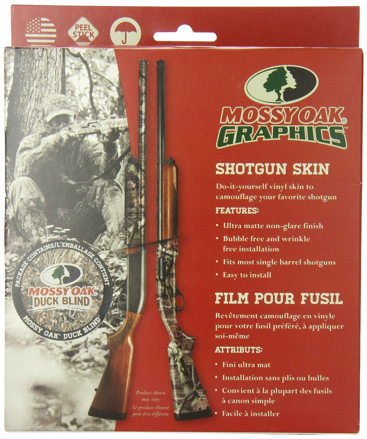 Mossy Oak Graphics 14004-DB Duck Blind Shotgun and Rifle Camouflage ...