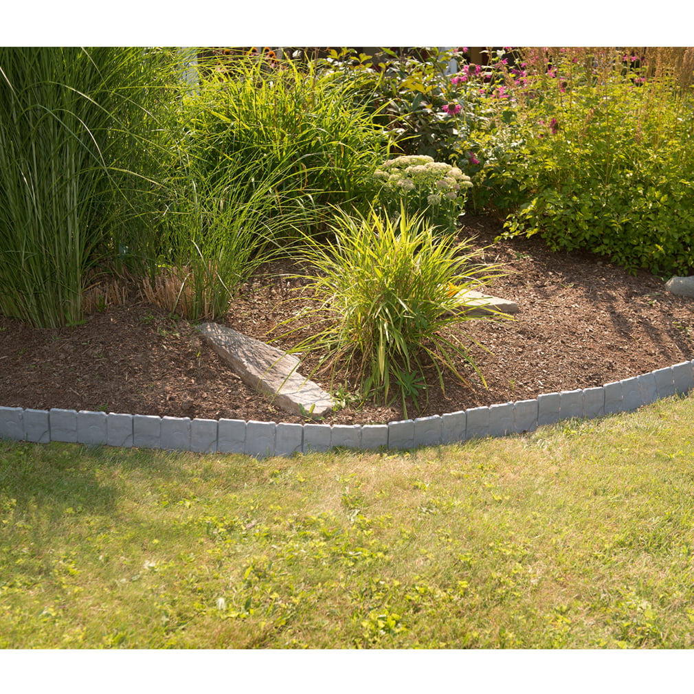 natural rock borders for flower beds » Beautiful Flowers 2019 ...