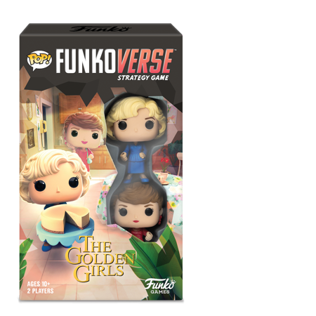 POP! Funkoverse Board Game: The Golden Girls #100 Expandalone