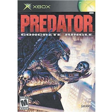 Predator Concrete Jungle - Xbox, Roam a vast city landscape stalking human prey with weapons of annihilation, cloaking technology, and various vision.., By Vivendi Universal (Visions Of The City)