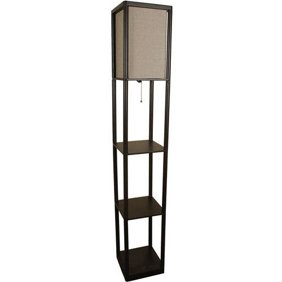 Adesso lighting 3138 01 wright etagere floor lamp walmart mozeypictures Images