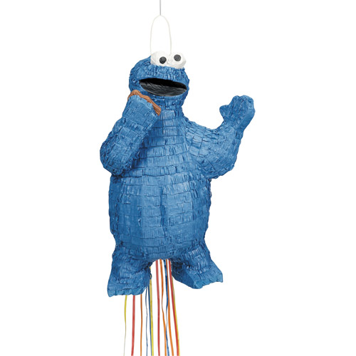 Cookie Monster 3D Pull Pinata
