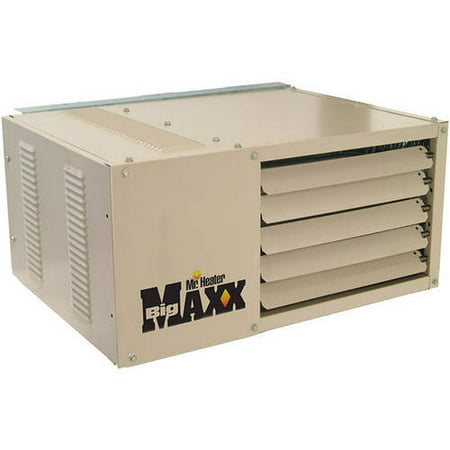 Mr. Heater MHU50 Big Maxx Natural Gas Unit Heater, 50000 BTU with Propane Conversion
