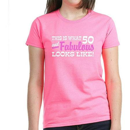CafePress Funny 50th Birthday Women's Dark T-Shirt