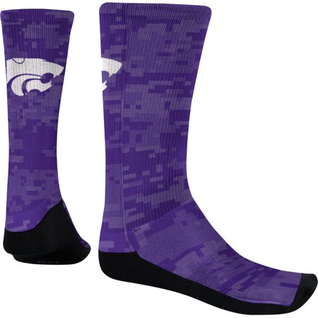 Men's Kansas State University Digital Sublimated Socks (Apparel) ()