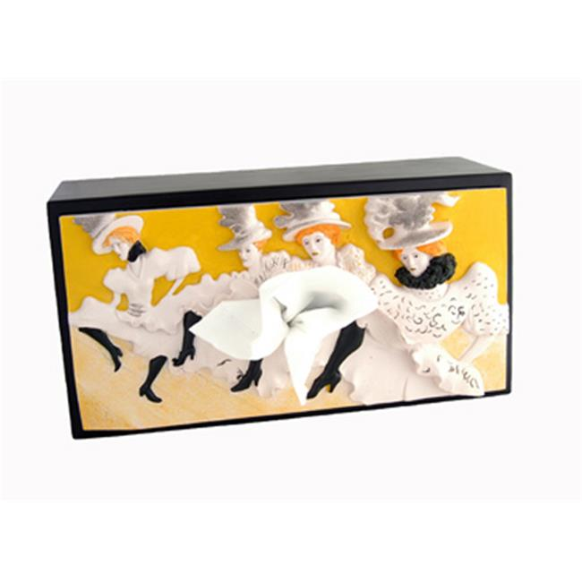 Caravelle BC-0013 Moulin Rouge Tissue Box Cover