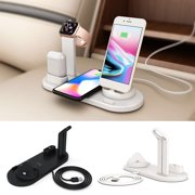 3in1Qi Fast Wireless Charging Dock Stand Station for Apple Watch Airpods iPhone