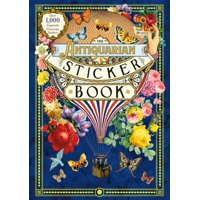 The Antiquarian Sticker Book : Over 1,000 Exquisite Victorian Stickers (Hardcover)
