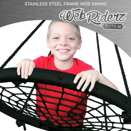 M&M Sales Enterprises Inc. Elite Stainless Steel Web Riderz Swing