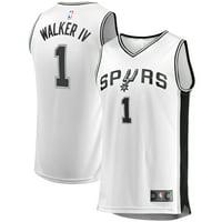 Lonnie Walker San Antonio Spurs Fanatics Branded Youth Fast Break Replica Player Jersey - Association Edition - White