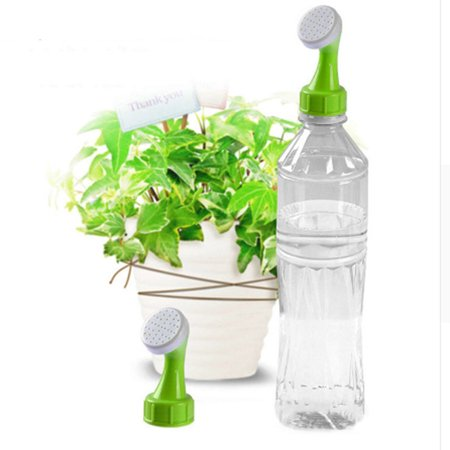 1 Pcs Portable Plastic Plant Flower Watering Sprinkler Nozzle, 22mm Caliber Bottle Watering Spout Cap Converter, Fit for 0.5, 1, 1.5, 2 Liter Soda Bottle