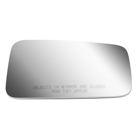 For 1987 to 1993 Jeep Wrangler Right Side Door Rear View Mirror Glass Replacement Lens 88 89 90 91 92 ()