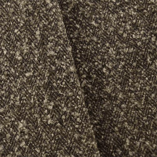 Dark Brown Herringbone Boucle Upholstery Fabric Fabric By The Yard