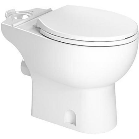 Saniflo 83 Toilet Bowl with Soft Close Seat, White Toilet Bowl Seal