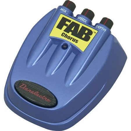 D5 Danelectro FAB Chorus Guitar Effects Pedal (Fender Chorus Pedal)