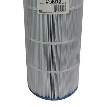 Unicel C-8610 Hayward Star Clear II C1100 CX1100 Swimming Pool Filter Cartridge (Star Clear Cartridge Filter)