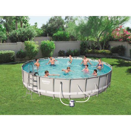Bestway Power Steel 14 X 42 Quot Frame Swimming Pool Set