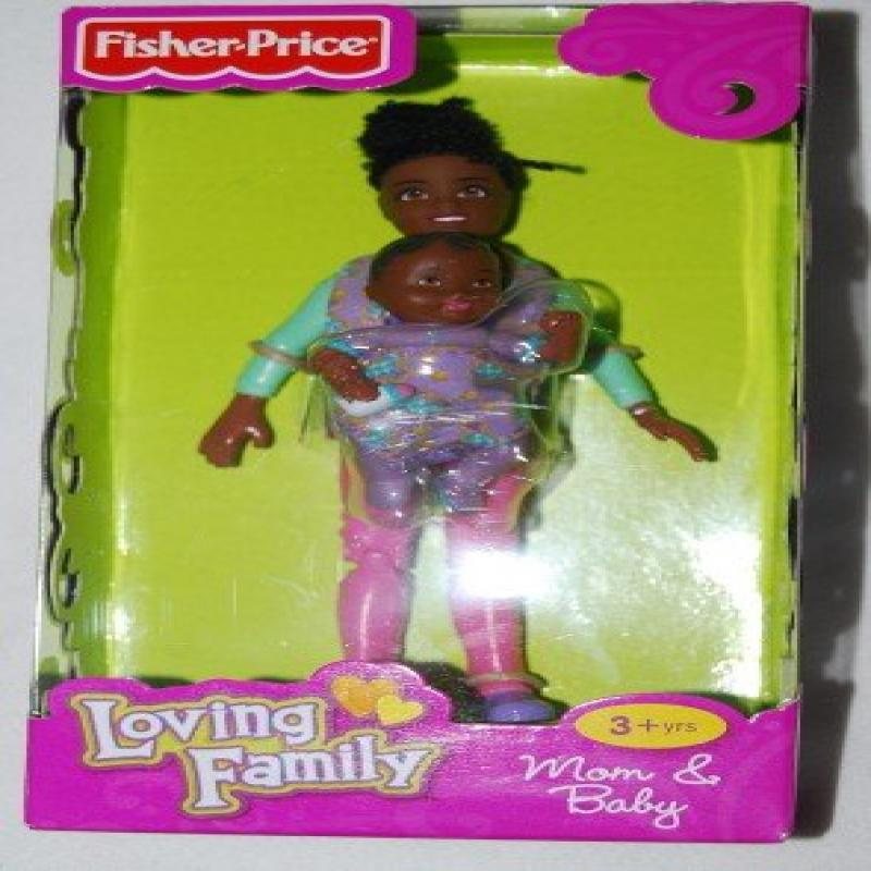 Fisher Price Loving Family African American Mom and Baby