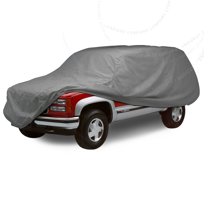 LT Sport® Brand Fit 84-14 jeep uv/waterproof car cover outdoor (508x178x120)cm - Free Shipping