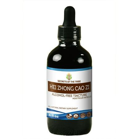 Hei Zhong Cao Zi Tincture Alcohol Free Extract  Organic Black Cumin  Hei Zhong Cao Zi  Nigella Sativa  Dried Seed 4 Oz